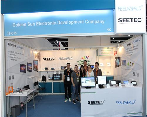 HKTDC 2017 FEELWORLD& SEETEC Show the New Products