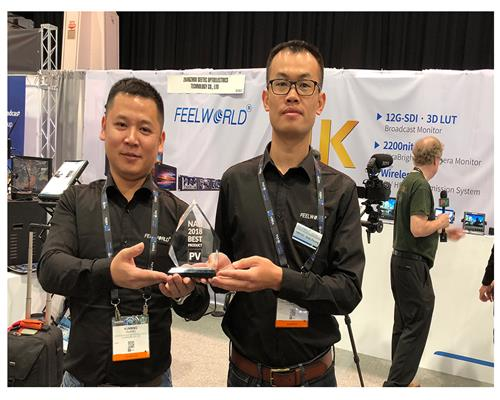 2018 NAB exhibition, FEELWORLD/ SEETEC 2000nit 4K Small Monitor/ 4K Broadcast Monitor Favored