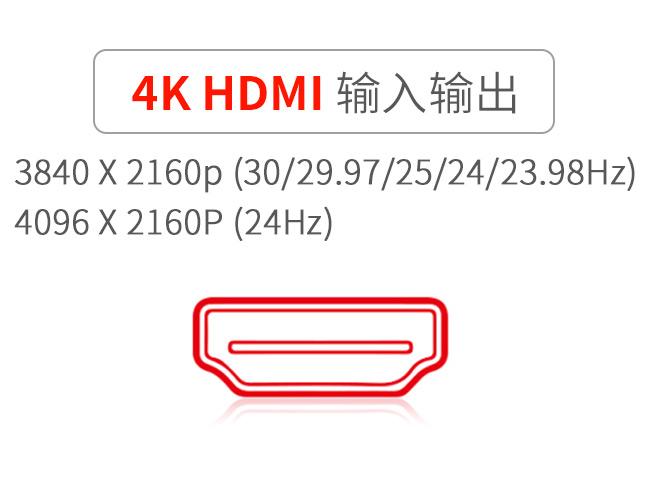 4K-HDMI输入输出监视器
