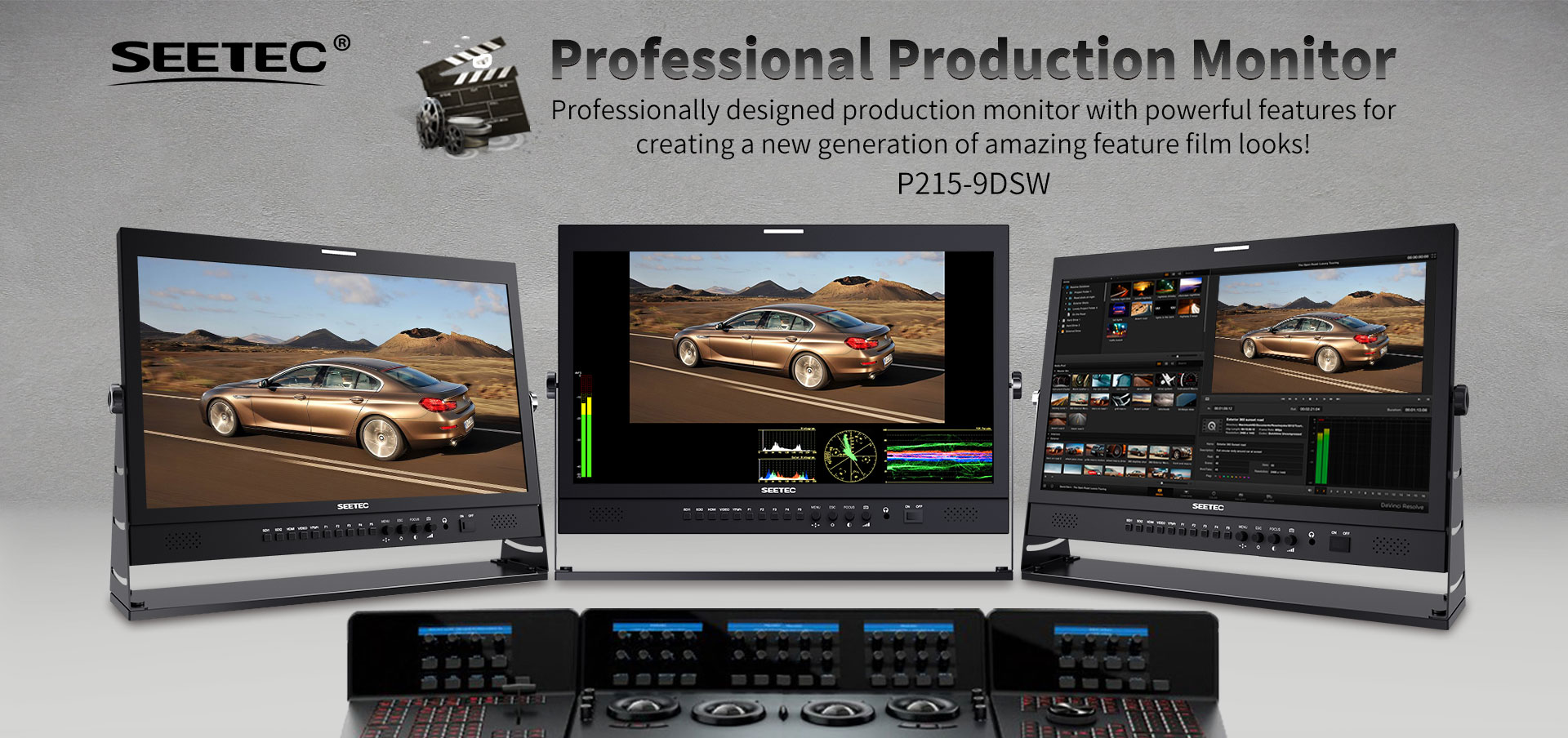 professional production monitor P215-9DSW