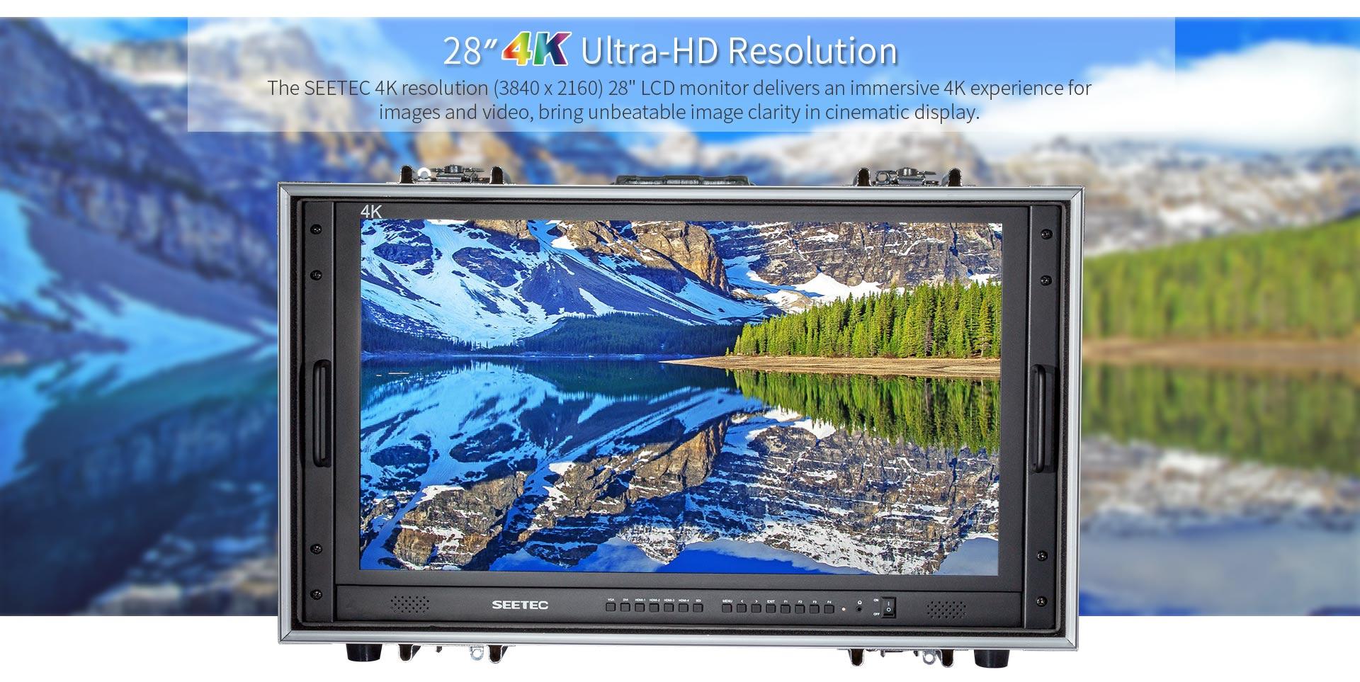 Monitor 4K 28 inch SEETEC