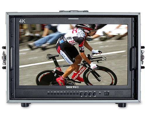 SEETEC 21.5 Inch 3G-SDI/ 4K HDMI Broadcast Carry-on Director Monitor with IPS Full HD 1920x1080 4K215-9HSD-192-CO