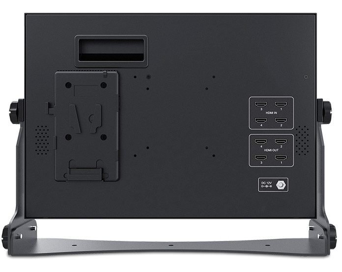 4 HDMI inputs outputs monitor